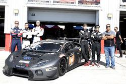 #66 Attempto Racing Lamborghini Huracán GT3: Clemens Schmid, Pieter Schothorst, Steijn Schothorst, A