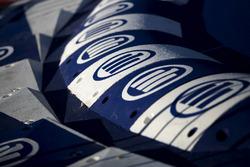 Des logos Allianz sur les vibreurs
