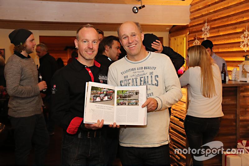 Champion de Suisse de la montagne 2017 Marcel Steiner avec Daniel Hadorn