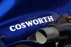 Cosworth logo op de Williams FW28