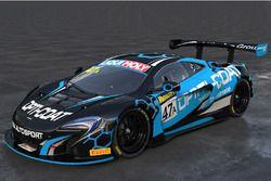 Scott McLaughlin, YNA Autosport, McLaren 650S GT3