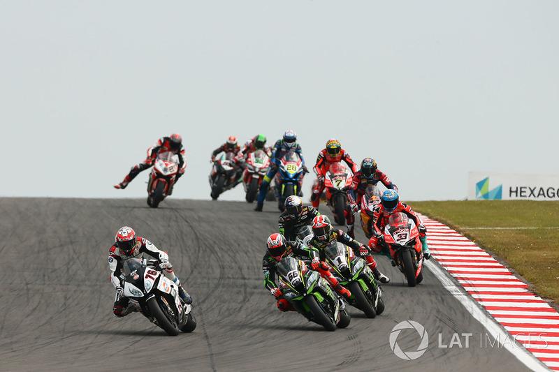 Loris Baz, Althea Racing, Tom Sykes, Kawasaki Racing