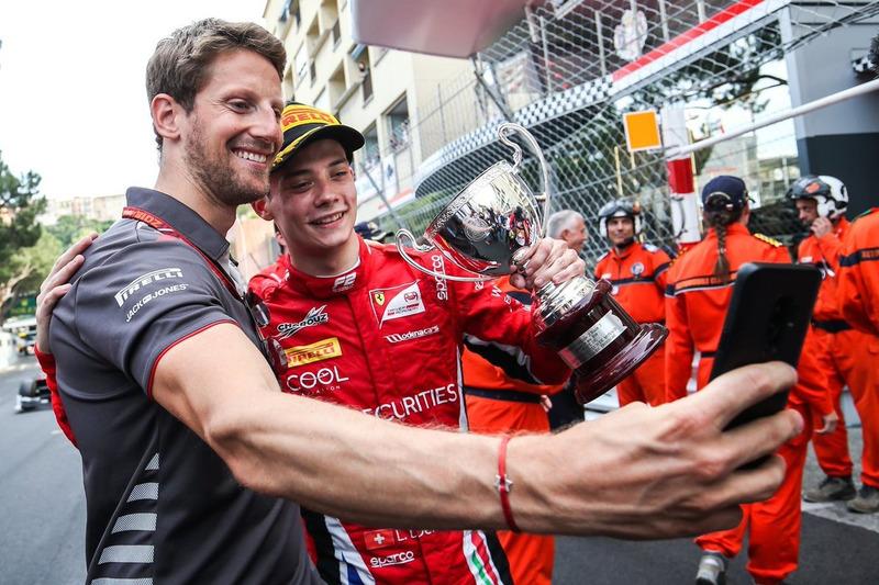 Louis Deletraz, Charouz Racing System avec Romain Grosjean, Haas F1 Team