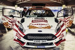 The car of Matthew Wilson, Loudon Stuart, C-Rally, Ford Fiesta R5