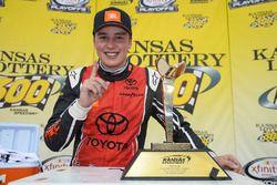 Race winner Christopher Bell, Joe Gibbs Racing Toyota