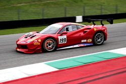 #199 Ferrari of Vancouver Ferrari 488: Wei Lu