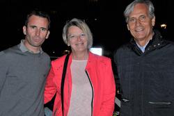 Romain Dumas, Géraldine Marx et Denis Giraudet, 25 octobre 2017 à Sion