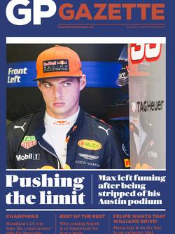 GP Gazette 020 United States GP Cover
