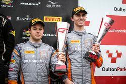 Podium GT4: third place #4 Tolman Motorsport McLaren 570S GT4: Michael O'Brien, Charlie Fagg