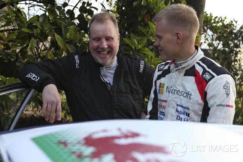Phil Mills, M-Sport Ford WRT, Ott Tänak, Toyota Gazoo Racing