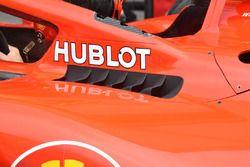 Ferrari SF71H: sfoghi ai lati dell'abitacolo