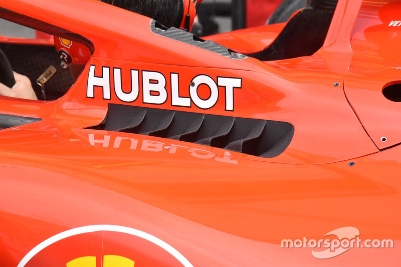Ferrari SF71H detail