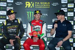 Tanner Foust, Scott Speed, Petter Solberg