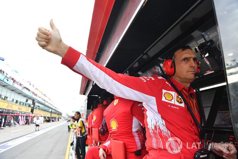Adami bertanya berapa lap time yang bisa dicetak Vettel