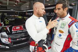 Роб Хафф, All-Inkl Motorsport, и Меди Беннани, Sébastien Loeb Racing