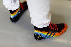 Las botas de Fernando Alonso, McLaren