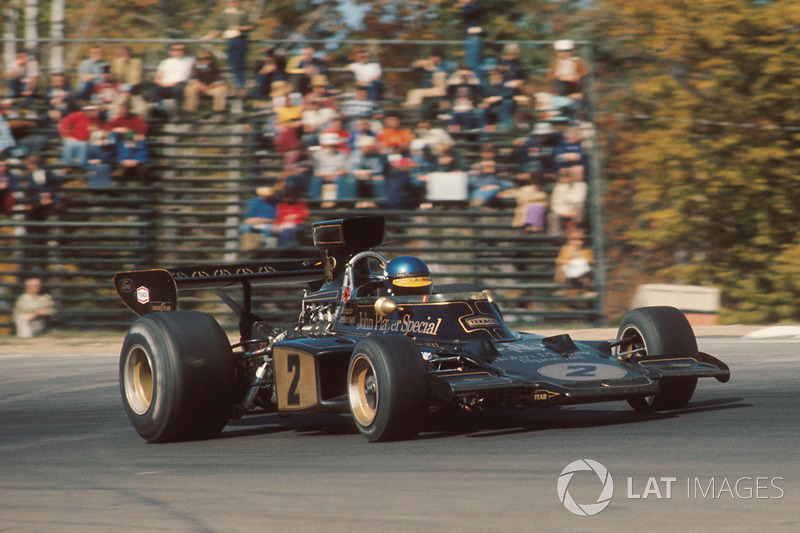 Ronnie Peterson, Lotus, entre 1973 y 1974