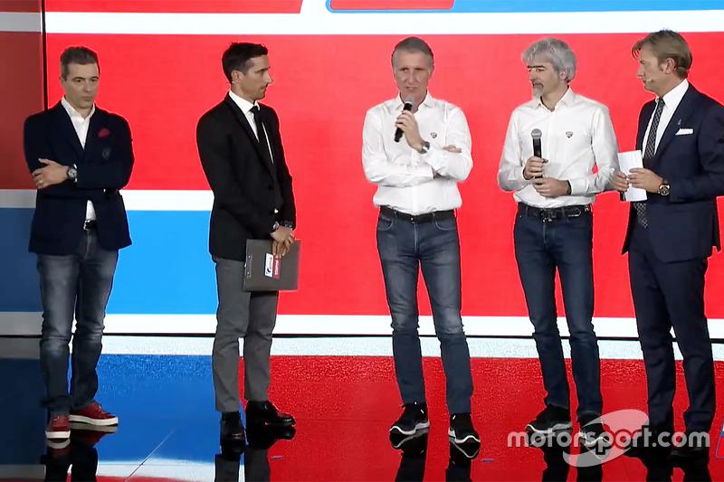 Francesco Guidotti, Frencesco Guidotti, Team Manager Pramac Racing, Davide Camicioli, Paolo Ciabatti, Gigi Dall'Igna and Sandro Donato Grosso