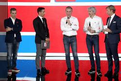 Francesco Guidotti, Davide Camicioli, Paolo Ciabatti, Gigi Dall'Igna y Sandro Donato Grosso
