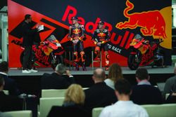 Pol Espargaro, Red Bull KTM Factory Racing, Bradley Smith, Red Bull KTM Factory Racing with Alex Hof