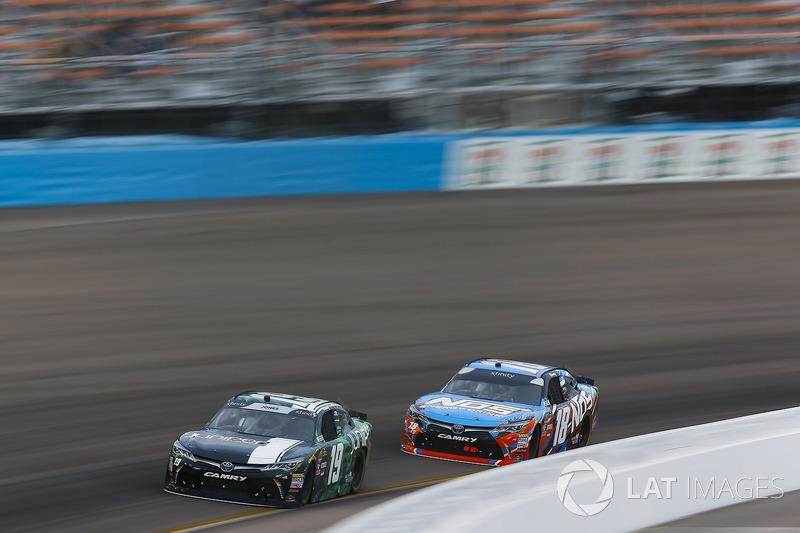 Brandon Jones, Joe Gibbs Racing, Toyota Camry Juniper, Kyle Busch, Joe Gibbs Racing, Toyota Camry NOS