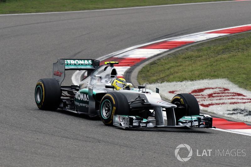 2012: Nico Rosberg, Mercedes F1 W03