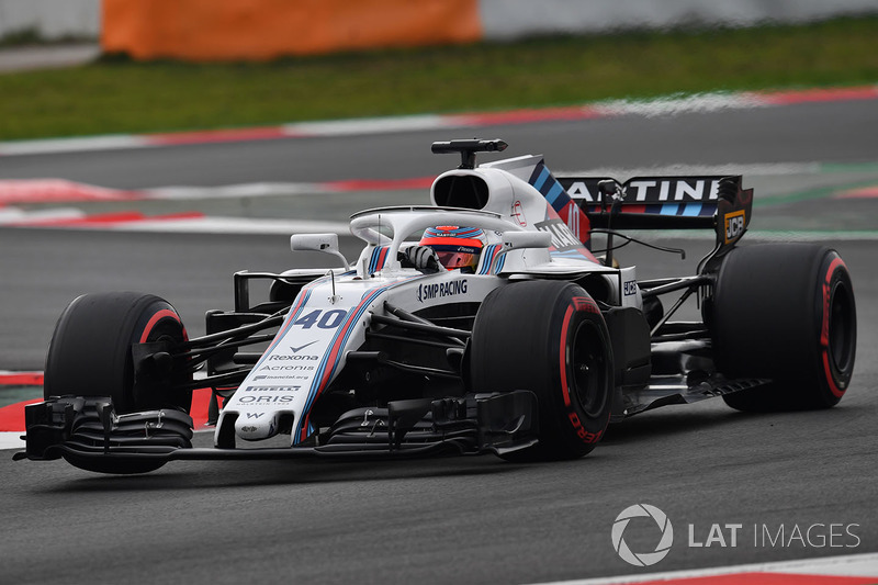 Pruebas en Barcelona 2018 Williams