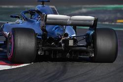 Arrière de la voiture de Valtteri Bottas, Mercedes-AMG F1 W09