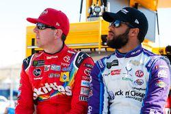 Kyle Busch, Joe Gibbs Racing, Toyota Camry Skittles Sweet Heat, Darrell Wallace Jr., Richard Petty M