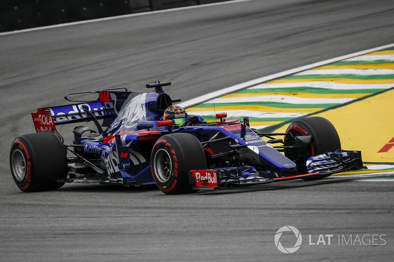 2017: Toro Rosso STR12 Renault (одно четвертое место, 7-е место в КК)