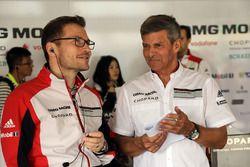 Andreas Seidl, Porsche LMP Team líder, Fritz Enzinger, head of Porsche Team LMP1