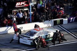 Pit stop, Gray Gaulding, BK Racing Toyota Camry