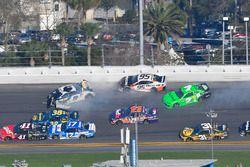 Chase Elliott, Hendrick Motorsports Chevrolet Camaro, Danica Patrick, Premium Motorsports Chevrolet