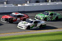 Tyler Reddick, JR Motorsports, BurgerFi Chevrolet Camaro, Ryan Reed, Roush Fenway Racing, Drive Down