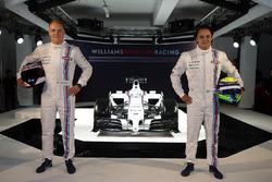 Valtteri Bottas en Felipe Massa, Williams