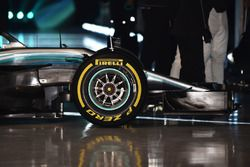Mercedes AMG F1 W09 front detail