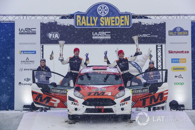 Takamoto Katsuta, Marko Salminen, Ford Fiesta R5