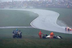 Фабрицио Барбацца, Minardi Cosworth M193