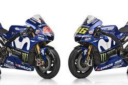 Motoren van Maverick Viñales en, Valentino Rossi, Yamaha Factory Racing