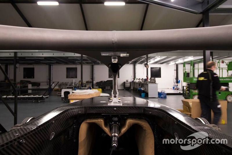 MP Motorsport F2 halo