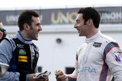 #90 Spirit of Daytona Racing Cadillac DPi: Tristan Vautier and #6 Acura Team Penske Acura DPi: Simon Pagenaud