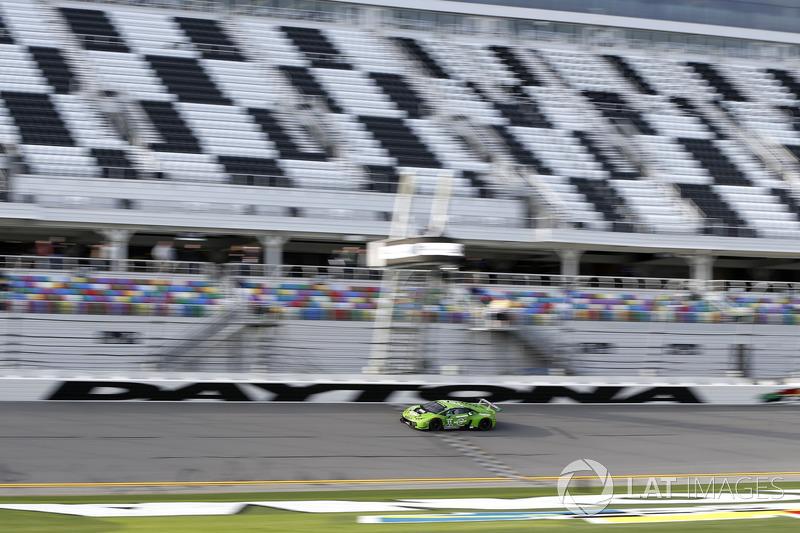 #11 GRT Grasser Racing Team Lamborghini Huracan GT3: Rolf Ineichen, Mirko Bortolotti, Franck Perera, Rik Breukers