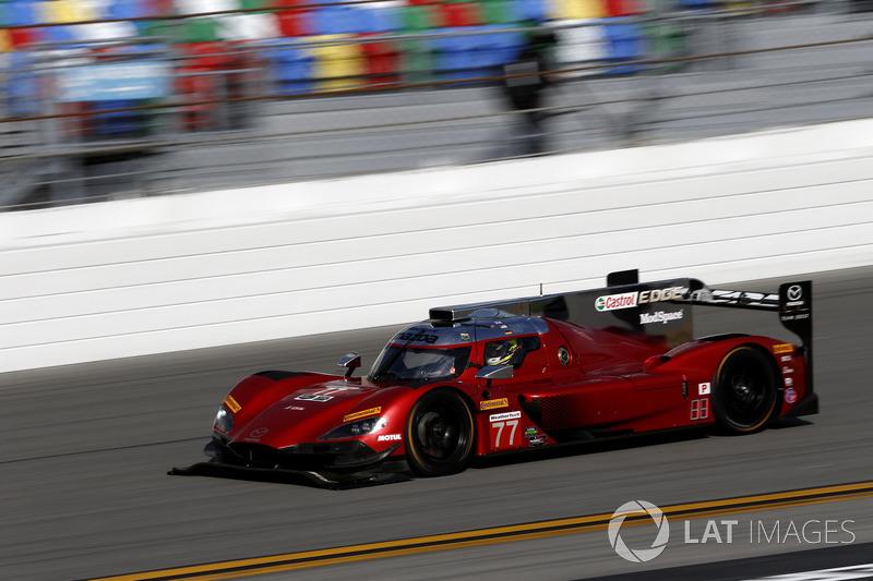 19.- #77 Mazda Team Joest Mazda DPi (Prototipo): Oliver Jarvis, Tristan Nunez, Rene Rast