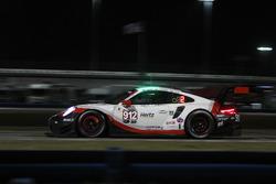 #912 Porsche Team North America Porsche 911 RSR: Laurens Vanthoor, Earl Bamber, Gianmaria Bruni