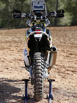 Мотоцикл Husqvarna FR 450 Rally Пабло Кинтанильи