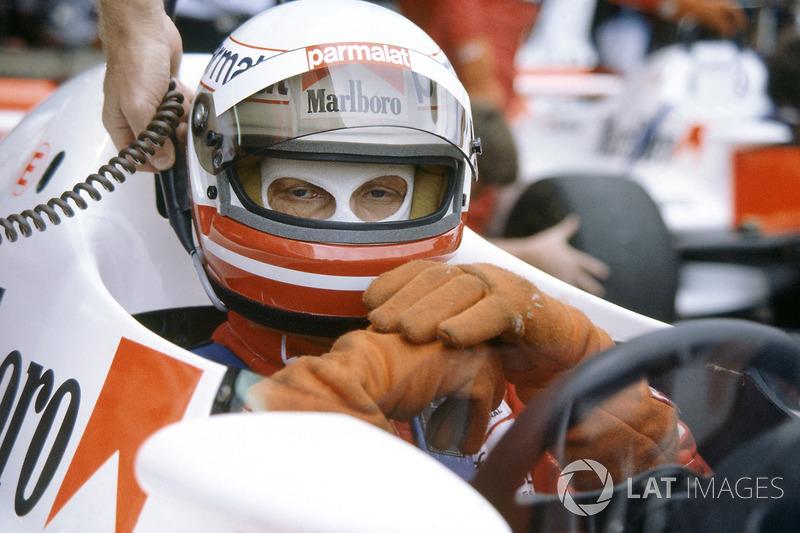Ники Лауда, McLaren MP4/1B, на Гран При ЮАР 1982 года