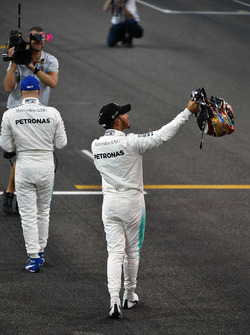 Володар поулу Валттері Боттас, Льюіс Хемілтон, Mercedes AMG F1