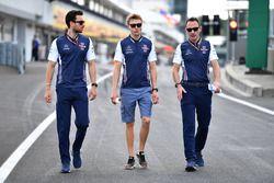 Sergey Sirotkin, Williams walks the track