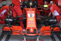 Ferrari SF71H de Sebastian Vettel