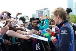 Brendon Hartley, Scuderia Toro Rosso at the autograph session